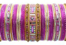 indian fashion bangles / Indian fashion Bangle is the collection that made SMGL Jewelry a buzzword in fashion and design circles. Featuring an array of materials, styles, and sizes, the Indian fashion Bangle Collection has a bangle for any occasion. The   Bangles most often come in two or three sizes, so please refer to our bangle sizing chart in order to determine the perfect bangle fit. No conventional outfit is complete without colorful bangles.