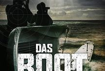 Das Boot / 2017: TV Series 8 x 1 hr war drama. €25m sequel to Wolfgang Petersen's 1981 classic. The returning U-96 suffer an air attack at La Rochelle while the young crew of U-612 go out to sea; French resistance & Allies gain strength  on land & sea. Filming 104 days fr 31 Aug 2017 to 15 Feb 2018 starting at Prague's Barrandov Studio, La Rochelle, Munich, Malta Rinella Film Studios water tanks & sea.  Airing: Autumn 2018 on Sky TV Europe & worldwide by Sonar Entertainment