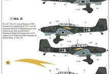 WW2 Aircraft decals