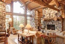 Log Houses / cabañas de troncos