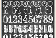 Tipografy / Chalkboards