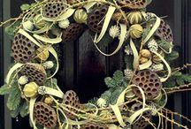 Wreath/Krans inspirasjon