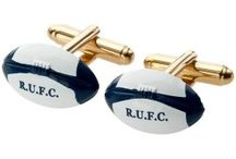 Rugby Cufflinks / Cufflinks for Rugby Fans in our sports cufflinks collection at Cufflinkman.co.uk. With so many designs of Rugby Cufflinks to choose from you're sure to find what you're looking for. Several styles of rugby ball cufflinks including our unique Gunmetal and Rose Gold Rugby Ball designs. Fantastic Rugby Cufflinks Gift sets which make ideal gifts for rugby sports fans.