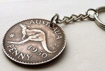 Coin keychains / Coin keychains