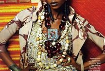 Boho-Chic Afro Punk Haute Couture / A board to inspire and empower Funky and upbeat Afro punk, BOHO-chic fashionistas and all women of color young and old to see their natural beauty.  Inspiration from African styles and traditions, are shown with original created dresses and attire with spectacular elements including beautiful African Models, full length dresses, and body and arm bracelets resembling traditional tattoos etc. It's showing young girls that their natural Black is Always Beautiful.