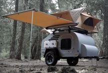 Tiny travel trailers
