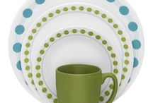 Pattern Inspiration - South Beach / Inspiration behind our colorful and contemporary South Beach pattern. Its energetic combination of lime green and turquoise will bring a burst of energy to your table!  / by Corelle Dining