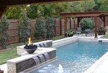 modern small swing pools