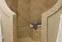 Awesome Walk in Showers! / Walk in Showers, Bathroom design, tile bathroom desgin