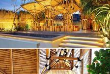 bamboo/bamboo house