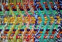 Knitting and Weaving / by Judi Herold