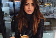 karamel saç
