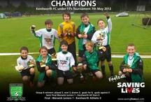 Warwick Juniors FC Supporting Saving Lives  / Football Saving Lives Charity www.savinglivesuk