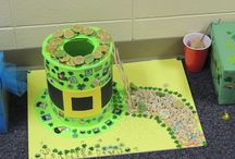 "Kindergarten Leprechaun Traps / Our kindergartners recently created what are called ""leprechaun traps"" and displayed them during a ""Marvelous Monday"" event at school.  Here are just a few photos of the traps."