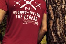 Apparel - P-51 MUSTANG: THE SOUND, THE LOOK, THE LEGEND / P-51 Mustang apparel