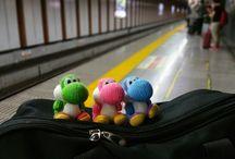 The Yoshi Trio / The adventures of the Yoshi Trio exploring the world.