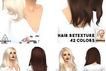 The Sims 4 female hair