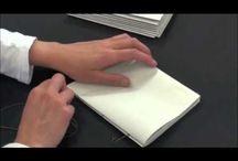 Book binding || Encuadernación / by Paloma Ibarra