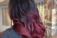 Cherry Bombrè Hairs / Hair color style