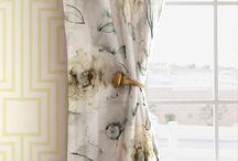 Watercolour fabrics / tkaniny z efektem akwareli / Zasłony i tkaniny tapicereskie z efektem malarstwa akwarelowego