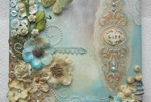 Scrapbook mixed media / examples
