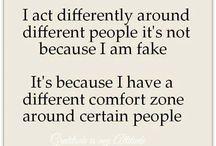 me - introvert