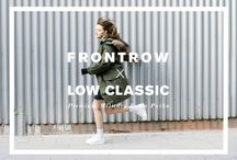 FRONTROW X LOW CLASSIC / [Special collaboration : FRONTROW X LOW CLASSIC] Make the best of winter's weather with 2014 F/W FRONTROW X LOW CLASSIC 'PREMIUM MILITARY DOWN PARKA'.