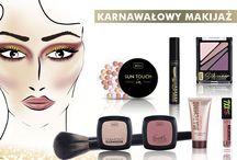 Karnawałowe inspiracje / #karnawał #makijaż #makeup #carnival #party #color #wibo #cosmetics #kosmetyki #beauty