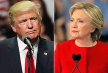 Elezioni USA Clinton - Trump