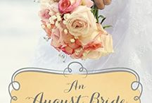 AN AUGUST BRIDE / All about my new August release! A Fun Texas wedding story (the Mule Hollow Matchmakers are at the wedding!) After a cowboy broke her heart Kelsey vowed never to love a cowboy again. She's traded in her boots for flip-flops and a bistro on the beautiful sandy beach of Corpus Christi. Then Brent rescues her from drowning...and the fun begins!