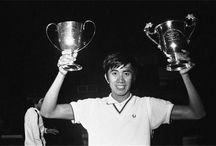 Legends badminton of Indonesia