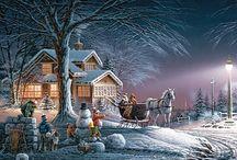 Christmas / Decking the halls...