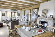 Stylové interiéry / Už nemůžete slyšet slovo design? Tato nástěnka přináší nádherné a příjemné interiéry inspirované Provence.