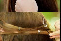 Hair styles braids etc.