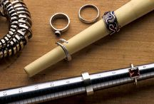 Μετράδια για δακτυλίδια και τρόποι χρησης