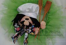 Adornos para Cocina / by El Baúl de Andrea