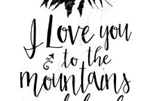 The Mountains is home♡ / Where hikers and mountain lovers unite ✌