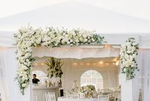Wedding marquees - inspiration