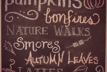 autumn.  / the best things about fall.. my favorite season.  / by Jennie Wieme