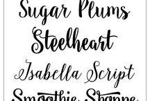 Fonts, fonts and more fonts!