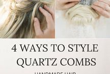 HAIRSTYLE GUIDE by NATURAE DESIGN / Hairstyle guide curated by Naturae Design