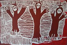 Linda Syddick Napaltjarri / Linda is the daughter of Wanala Nangala and Rintja Tjungurrayi. Linda's paintings are inspired by both her traditional nomadic life in the desert and the Dreaming of her father and stepfather.