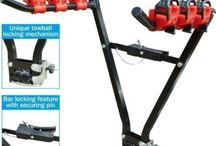 Bike Holder Rack Bicycle Transport Carry With Car Tow Bar Travel Cycle Carrier