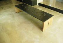 Tables design bois/béton/métal MADE IN FRANCE