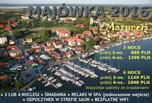 Majówka - 2016 - Mazury - Mikołajki / Oferta zakwaterowania