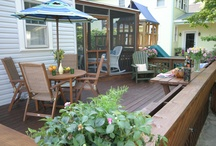 "Deck Makeovers / See the beautiful ""after"" that can come from your ""before"" - with help from Thompson's WaterSeal. / by Thompson's WaterSeal"