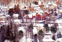 Vermont Winter Dreams / Vermont Winter Travel Porn