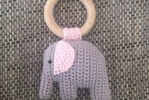 mobiel met olifantjes
