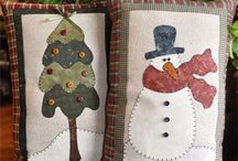 christmas pillows to make pattern Christmas decorations