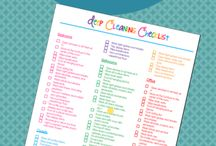 Spring Cleaning Printables / Spring cleaning is a necessary evil. Spring cleaning printables make it easier to stay on task, plus there is just something about the feeling of crossing things off a list. |Spring cleaning| Spring cleaning printables|
